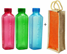 Oliveware Water Bottle with One Jute Bag