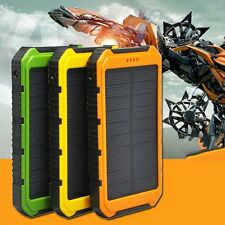 18000mAh Solar Panel 2A 1A Battery Power Bank External Portable Phone Charger YM