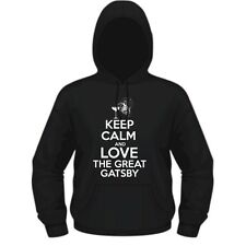 KEEP CALM AND LOVE THE GREAT GATSBY - THE GREAT GATSBY INSPIRED HOODIE