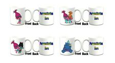 "Personalised ""TROLLS"" Inspired Printed Boxed Mug ~ Multiple Choices"