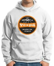 Felpa Hoodie OLDENG00291 vespa made in italy