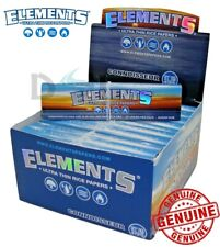 Elements Connoisseur Rice Smoking King Size Slim Cigarette Papers & Tips Roach