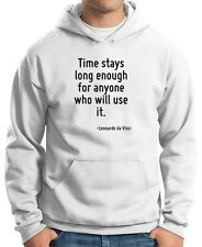 Felpa Hoodie CIT0237 Time stays long enough for anyone who will use it.