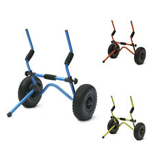 Legacy Sit On Top Kayak Trolley Heavy Duty Universal Scupper Cart & Kick Stand