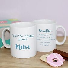 New Mother Mum Mother's Day gift Mug - You're doing great - Friends TV inspired