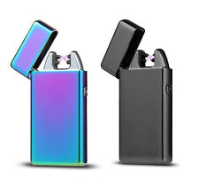 Rechargeable Electric LIGHTER Double ARC PULSE Flameless Plasma Clipper USB UK