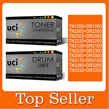 1 Toner + 1 Drum Compatible High Yied Premium for Brother printer