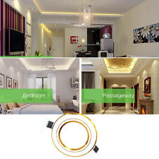 3/5W Recessed Ceiling Panel LED Downlight Spot Light Wall Lamp 2-Color Change