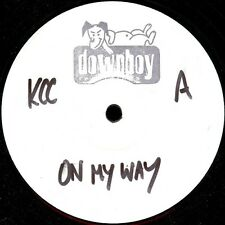 "Kcc-On My Way 12""-DOWNBOY, 12DBY001, White Label 3 Mix"