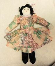 Vintage Doll Victorian Handmade 16 1/2 inch Tall