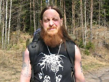 DARKTHRONE - A B b A camiseta. ULTRA RARO AND CULT Mayhem, Watain, Emperor)