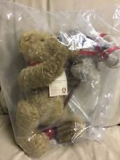 Hermann Sonneberg Museumsbear 2001 with hobby horse LE 117 out of 500
