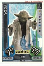 Topps Star Wars Force Attax Universe - Rainbow Foil Karte auswahl Force Meister