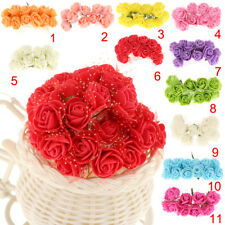 Range Bunch Artificial Small Roses Flowers Home Wedding Party Hair Decor PICK