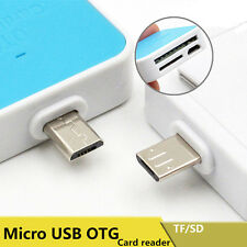 2 in 1 OTG Micro USB SD/TF Card Memory Card Reader Connection For Smart Phone