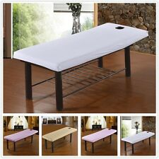Elastic Beauty Massage Bed Table Treatment Couch Cover Sheet + Face Breath Hole