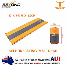 2 X NEW Self Inflating Mattress Sleeping Mat Air Bed Camping Hiking Joinable