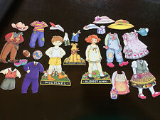 Engelbreit Michael & Audrey Ann Fabric Paper Dolls Clothing and Accessories