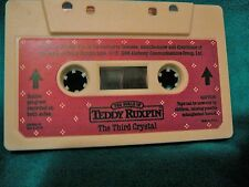WORLDS OF WONDER TEDDY RUXPIN TAPE - THE THIRD CRYSTAL