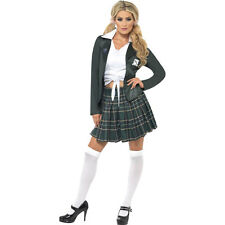 Adult Preppy School Girl St Trinians Sexy Schoolgirl Fancy Dress Costume 34167