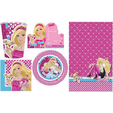 Barbie Party Accessories For Girl Kids Birthday Parties- Pick What Suits You