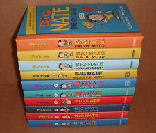 Lot of 10 Big Nate Books by Peirce Lincoln Hardcover NEW