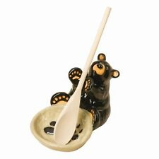 New Big Sky Carvers Demdaco Bearfoots Bears Spoon Holder