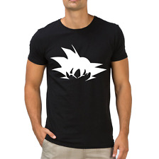 Fanideaz Men's Round Neck Cotton Goku Power Dbz Black T-Shirt (FMCT0352B)