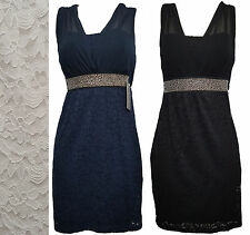 Lace Dress Clubwear Skater Cocktail Dress Party Club Evening Sleeveless Top
