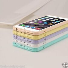 Clear Crystal Soft Plastic Back with Cute Design For Apple iphone 6