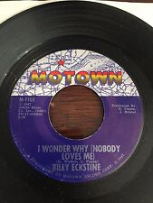 I WONDER WHY (NOBODY LOVES ME)- BILLY ECKSTINE- RARE MOTOWN- (LISTEN)