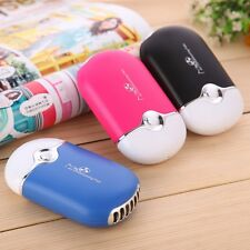 5V Mini Portable Handheld Desk Air Conditioner Rechargeable Fan USB Cooling Fan