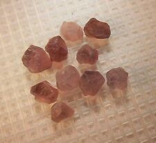 FACET ROUGH: ALL  NATURAL ETHIOPIAN FLUORITE (10 COUNT) APPROX. 8MM 33.03CTS