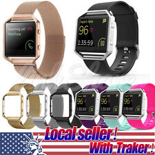 TX Hot Milanese Magnetic Stainless Steel Wrist watch Band Strap For Fitbit Blaze