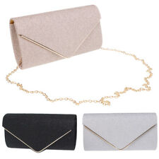 Glitter Sequin Clutch Evening Party Handbag Envelope Bag Purse for Women