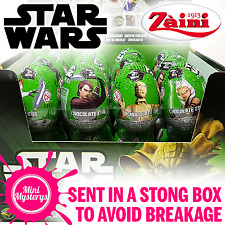 Star Wars Clone Wars Chocolate Surprise Eggs - Dracco Eggs, with 3D Toys Inside