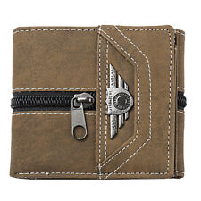 Mens Wallet Canvas Billfolds Money Clip Wallets ID Credit Card Holder Clutch
