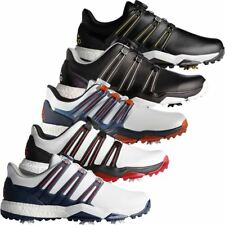 ADIDAS GOLF 2017 POWERBAND BOA BOOST WATERPROOF GOLF SHOES - WIDE FITTING