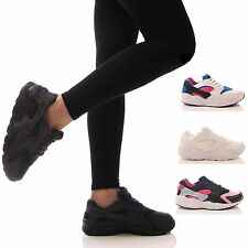 LADIES WOMENS TRAINERS GYM FITNESS SPORTS RUNNING FASHION JOGGING SHOES SIZE 3-8