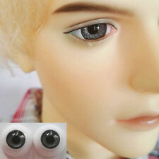 Dark Gray - BJD Eyes - 8mm 10 12 14 16 18 20 22 MSD SD13/10 Doll Dollfie