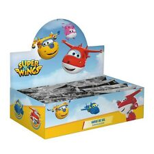 DISNEY Super Wings - Kinder Sonnenbrille + Etui - Jett, Dizzy, Donnie, Jerome