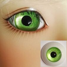 Bright Green - BJD Eyes - 8mm 10 12 14 16 18 20 22 MSD SD13/10 Doll Dollfie