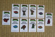 "Teenager Mutant Ninja Turtles ORIGINAL DEAD STOCK ""Power Patches"" Uncle Wallys"