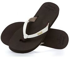 Reef Star Cushion Sassy Brown/White Flip Flops Sandals Womens