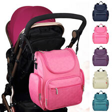 Waterproof Baby Mummy Diaper Nappy Changing Shoulder Computer Bag Backpack