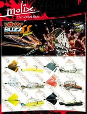 Artificiale spinning Lover Buzz Super Squeaky 1/4 oz. black bass topwater
