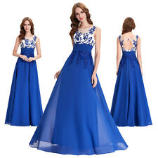 GK Formal Short Long Chiffon Ball Gown Evening Prom Party Dress Bridesmaids Sexy