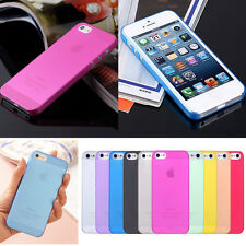 SOTTILE TPU CANDY OPACO Custodia Rigida Cover Cella Telefono per Samsung iPhone