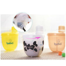 Portable Rotary Baby Milk Formula Dispenser Powder Box Container 120g