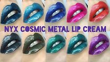 NYX Professional Makeup Cosmic Metals Lip Cream Lipstick Metallic New Genuine
